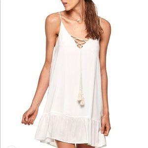 Malai White Cushy Dress